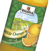 Produktbild Wolfra Milde Orange Fruchtsaft 100%